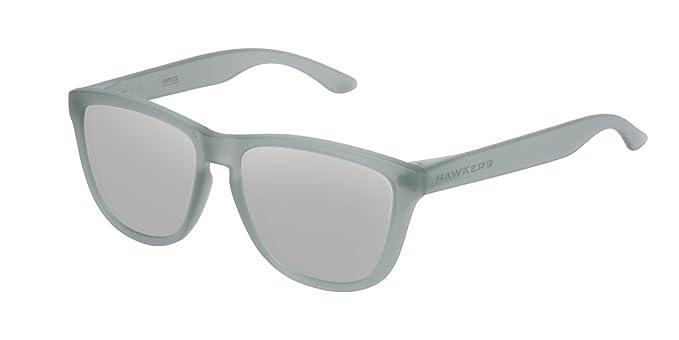 Hawkers Unisex-Erwachsene Sonnenbrille OTR39, Weiß (Transparente/Rose Gold), 60