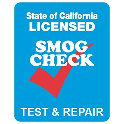 STOPSignsAndMore SMOG Check Test And Repair Sign Single Faced 24x30