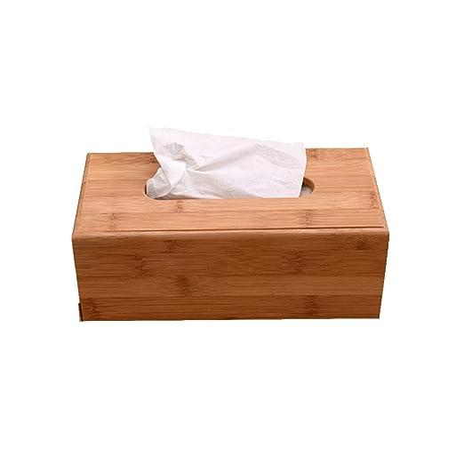 Caja de Pañuelos de Madera Dispensador de Pañuelos Para Salón O ...