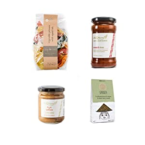 A Greek Foodie Gift Box (4 pieces, beribboned box set). Ideal Food Gift Basket for the Holidays, Housewarming, Hostess, Sympathy, Birthday & Anniversary