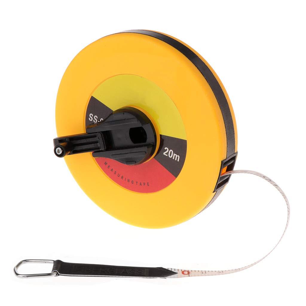30m Handscheiben-Disc Flexibles Lineal Aufziehma/ß ZChun Glasfasermessband 10//15//20 30m