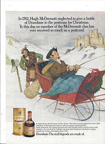MAGAZINE AD For 1990 Drambuie Don