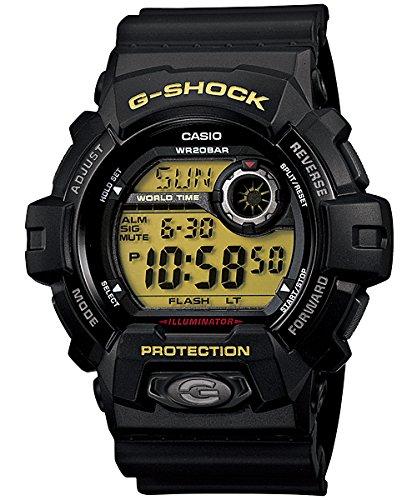 (G-Shock World Time Black Dial Men's watch #G8900-1)