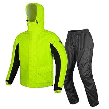 GJFeng Ciclismo Impermeable Pantalones De Lluvia Traje ...