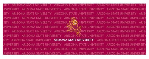 Arizona State Sun Devils Team Auto Rear Window Decal by In-Concept