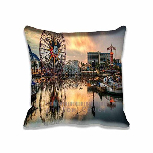 Cheap  Best Design California Adventure Decorative Pillow Covers Set , United States Pillow..