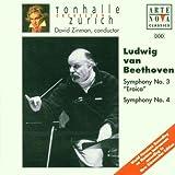 zinman symphonies - Beethoven: Symphonies no 3 & 4 / Zinman, Zurich Tonhalle Orch