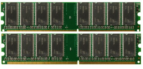 2GB 2X 1GB DDR PC3200 400 Mhz for DELL DIMENSION 3000 MEMORY RAM Dual Kit