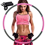 REDSEASONS Hula Hoop for Adults,Lose Weight Fast by Fun Way to Workout,Easy to Spin, Premium Quality and Soft Padding Hula Ho