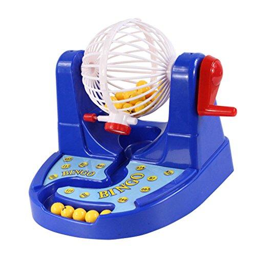Fenteer 宝くじ機ビンゴゲームおもちゃ 子供のため ギフト 手作り シミュレーション キッズおもちゃギフト 理解と思考能力