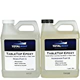 TotalBoat Clear Bar Top & TableTop Epoxy Resin 2 Quart Kit