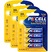 12 (4pc/3card) Batteries R6P AA UM3 MN1500 E91 Duration 105 min