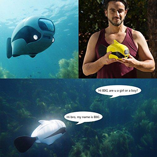 Review ROBOSEA BIKI, Submersible Wireless