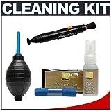 Nikon Cleaning Combo Kit: Nikon 3-Piece Lens Cleaning Kit + Nikon Lens Pen Cleaning System + Hurricane Air Blower for D4, D800, D7000, D5100, D3200, D3100, 1 V1, J1 Digital SLR Cameras, Lenses, Binoculars & Scopes