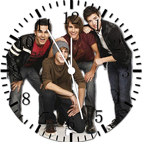 (Big Time Rush Frameless Borderless Wall Clock Y47 Nice For Gift or Room Wall Decor)