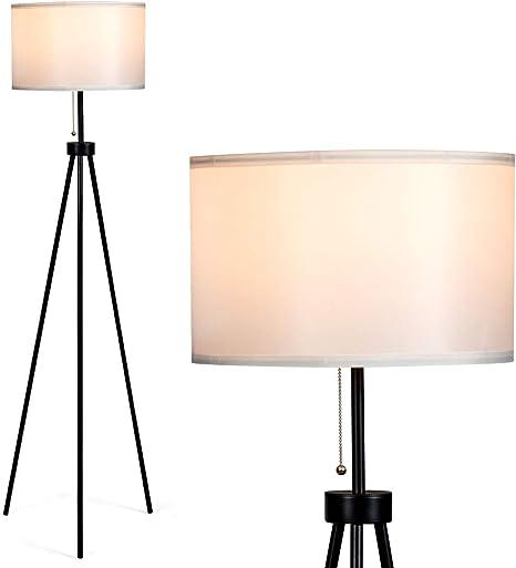 Amazon.com: Tangkula Lámpara de pie con trípode, lámpara de ...