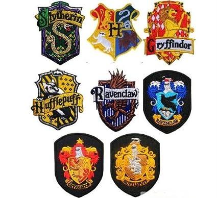 Harry Potter School Crest Iron On Patch Slytheringryffindorhufflepuffravenclawhogwarts