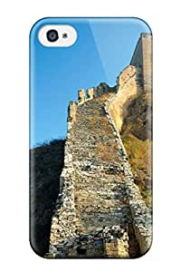 Hot New Locations Great Wall Of China Case Cover For Iphone 4/4s With Perfect Design