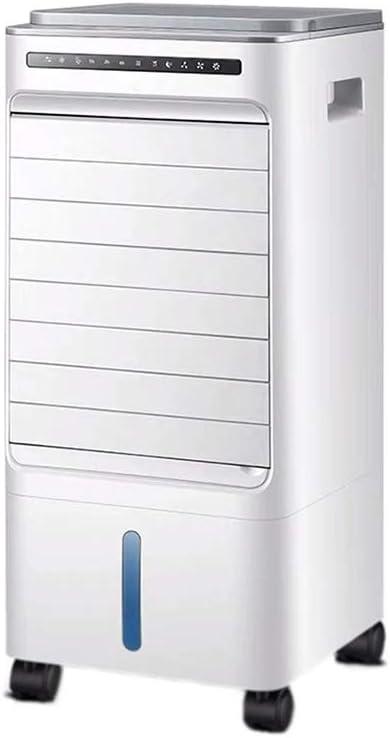 W-lfj hogar Aire Acondicionado Silencioso Portátil Ventilador Frio con Agua Evaporativo Climatizador Evaporativo Dormitorio Sala Abierto Piso Blanco Decoración de artículos para el hogar.: Amazon.es: Hogar