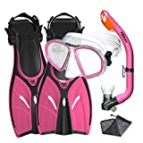 Promate Junior Mask Fins Snorkel Set for Kids