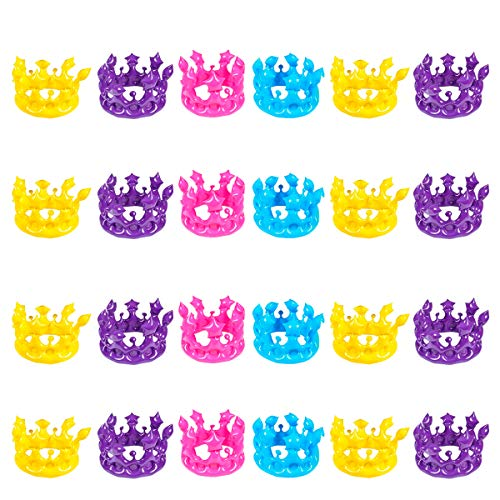 Kicko Inflatable Crown - Pack of 24 13.25