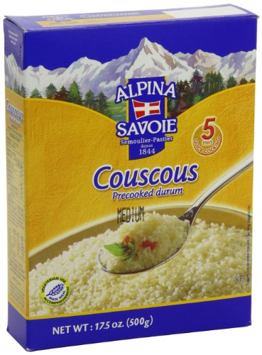 Alpina Savoie Couscous, 17.5-Ounce (Pack of 12) by Alpina Savoie