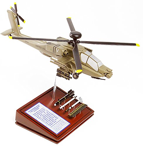 Mastercraft Collection Planes and Weapons Series Boeing AH-64D LONGBOW APACHE Model Scale:1/57 (Apache Ah 64 Longbow)