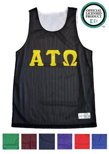 Ann Arbor T-shirt Company Men's ALPHA TAU OMEGA Mesh ATO Tank Top