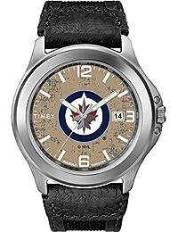 Timex Men's TWZHJTSMC NHL Old School Winnipeg Jets Watch