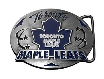 Toronto Maple Leafs NHL Hockey Belt Buckle
