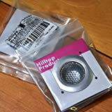 "2 Pack - 2.25"" Top / 1"" Basket, Stainless Steel Slop, Utility, Kitchen and Bathroom Sink Strainer. 1/16"" Holes."