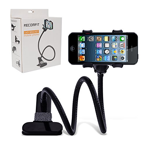 Huixinda Universal Phone Clip Holder with Flexible Gooseneck