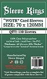 Sleeve Kings WOTR-Tarot Card Sleeves (70x120mm) -110 Pack, 60 Microns