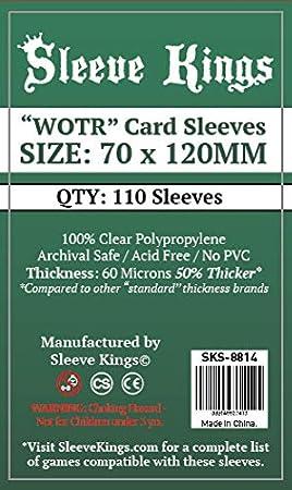 Amazon.com: Fundas para tarjetas Sleeve Kings WOTR-Tarot ...