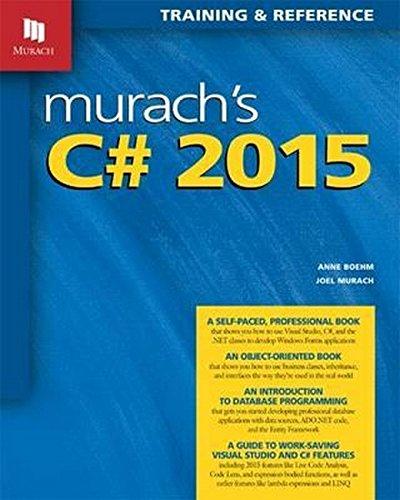 Murach's C# 2015 by Mike Murach Associates Inc