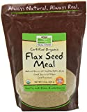 NOW Solutions Organic Flax Meal, 22-Ounce Review
