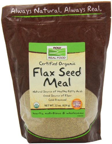 NOW Organic Flax Meal 22 Ounce