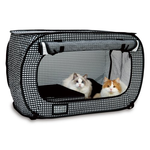 Necoichi Portable Stress Free Cat Cage and Litter Box Set