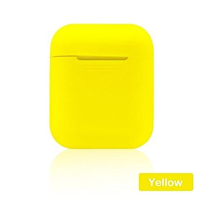 DANMEI - Carcasa de Silicona para Apple Airpods (Incluye Protector de Pantalla), diseño