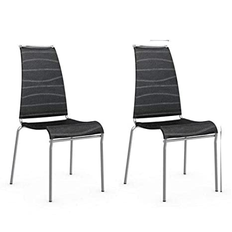 Inside - Juego de 2 sillas Italiana Air High Estructura ...