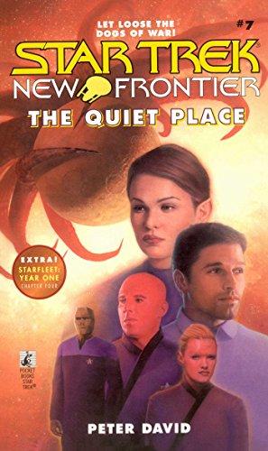 The Quiet Place (Star Trek: The Next Generation Book - Frontier Trek Star First