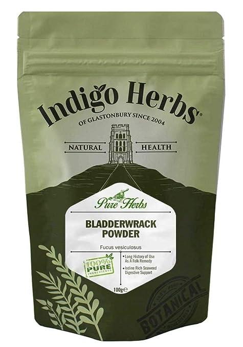 Indigo Herbs Polvo Fucus vesiculosus 100g