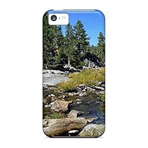 Eco-friendly Packaging phone carrying case cover stylish Ultra iphone 4 /4s - rocky stream in yosemite hjbrhga1544