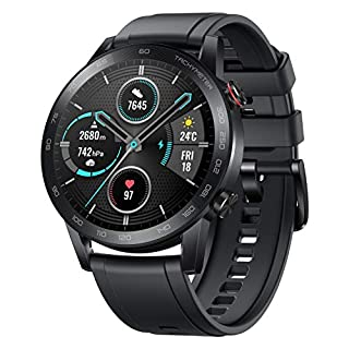 51Sown5y2NL. SS320 HONOR Magic Watch 2 (46mm, Charcoal Black) 14-Days Battery, SpO2, BT Calling & Music Playback, AMOLED Touch Screen…