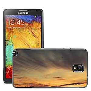 Cas Coq Case Cover // M00421389 Cielo Naranja Atardecer Amanecer // Samsung Galaxy Note 3 III N9000 N9002 N9005