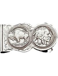 Men's Native American Nickel Money Clip - Mcl50