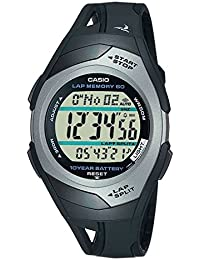 STR-300C-1VER Mens PHYS Rubber Strap Digital Sports Watch