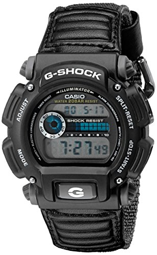 G-Shock DW9052V-1CR Men's Grey Sport Watch - Casio Watch Canvas