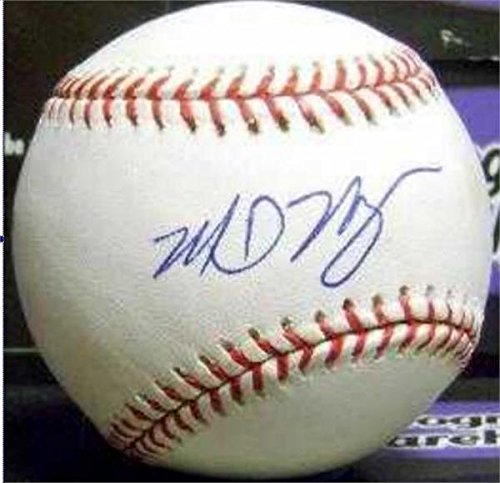 Mike Myers Signed Ball - OMLB 2004 World Series Champion 67) - Autographed Baseballs