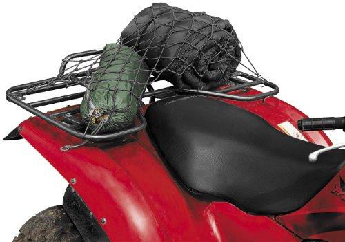 - QUADBOSS ATV LUGGAGE RACK CARGO NET W/8 COATED HOOKS